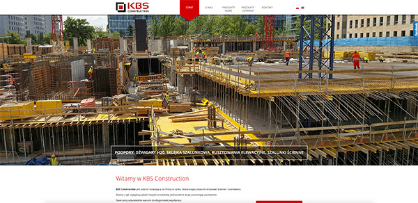 Strona ww KBS COnstruction